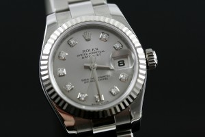 Rolex Datejust with Diamond Markers