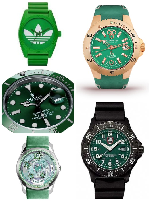 St. Paddy's Day Watches